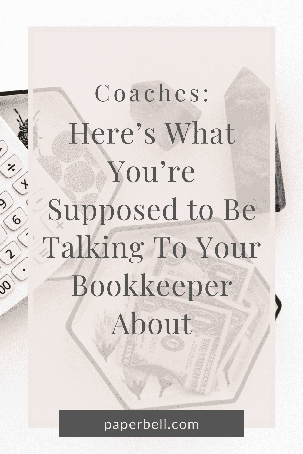 coaches talk to your bookkeeper