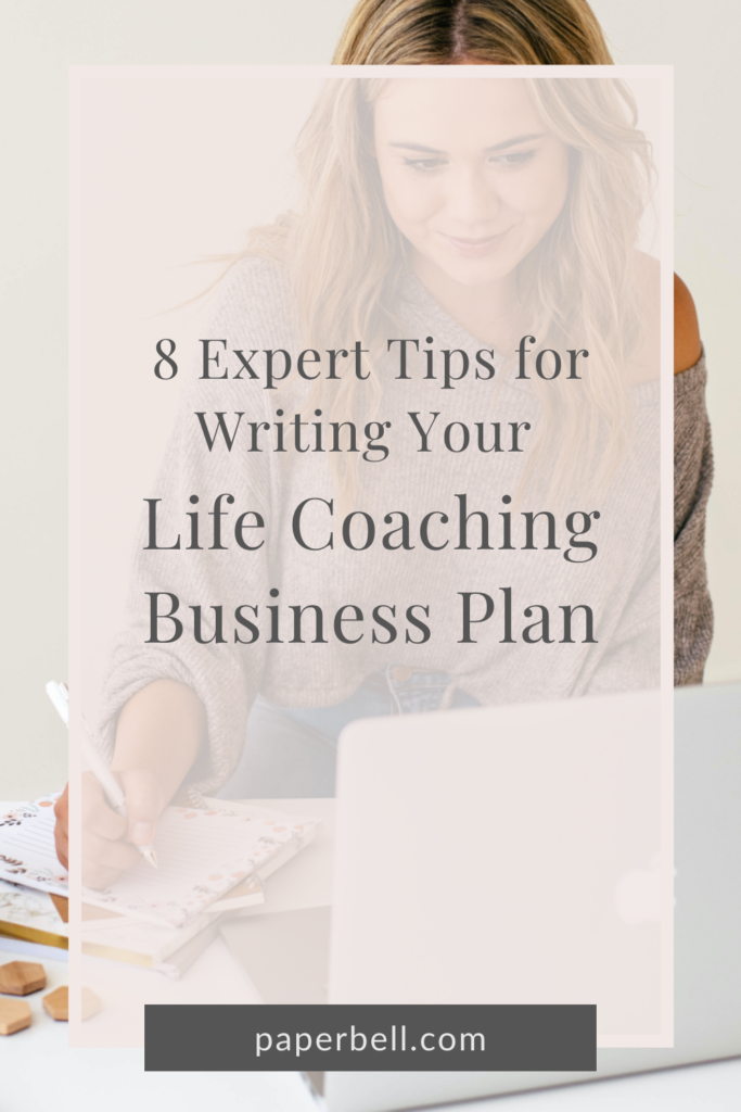 business plan for life coaching pin