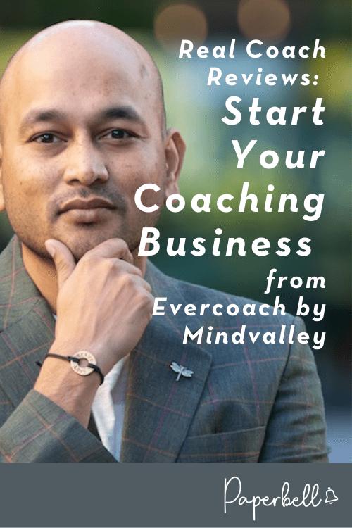 evercoach start your coaching business review pin