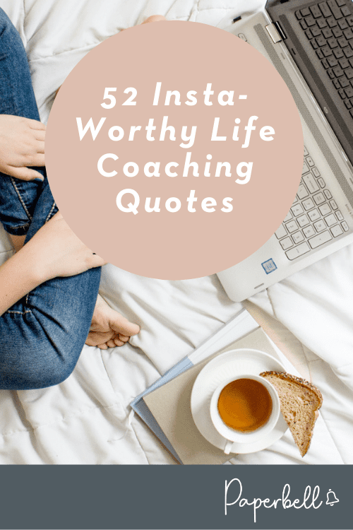 life coaching quotes pin