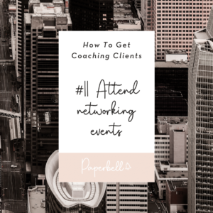 Attend networking events