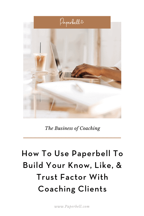 how to use paperbell pin