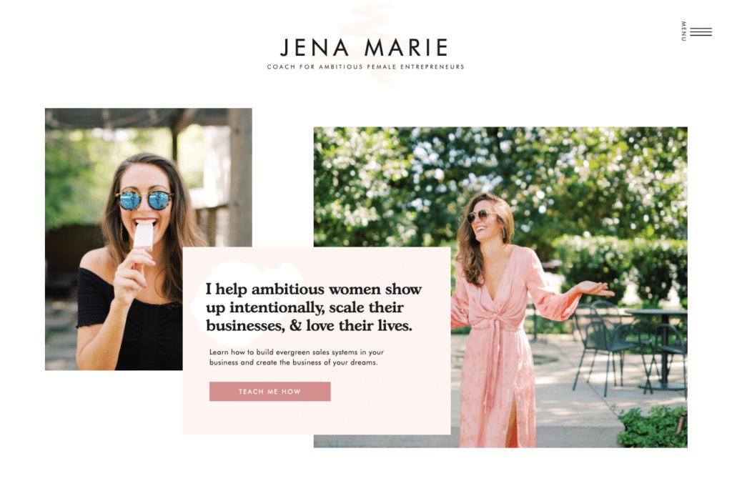 Jena by Elizabeth Mccravy