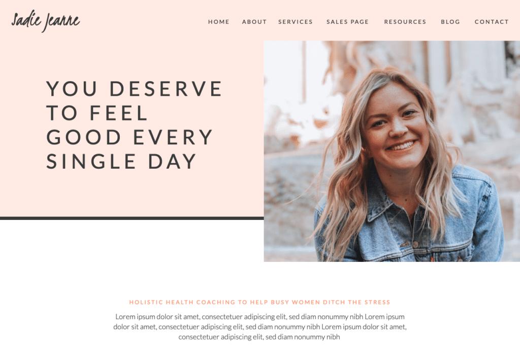 Sadie Jeanne by Current Design Studio