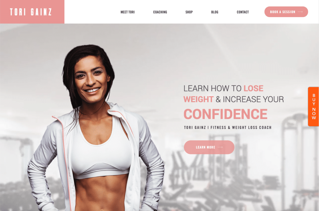 Tory Gainz by Wix Pro Themes