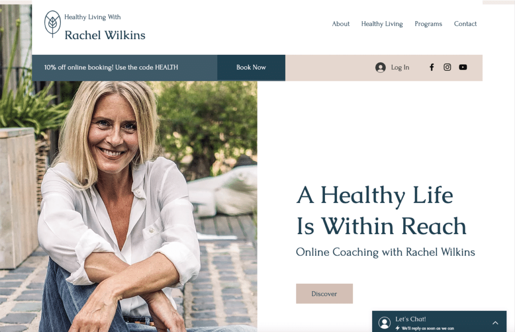 Health & Wellness Consultant by Wix