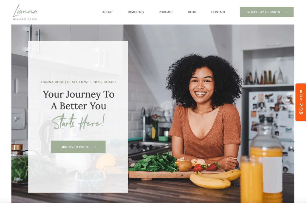 Lianna Rose by Wix Pro Themes