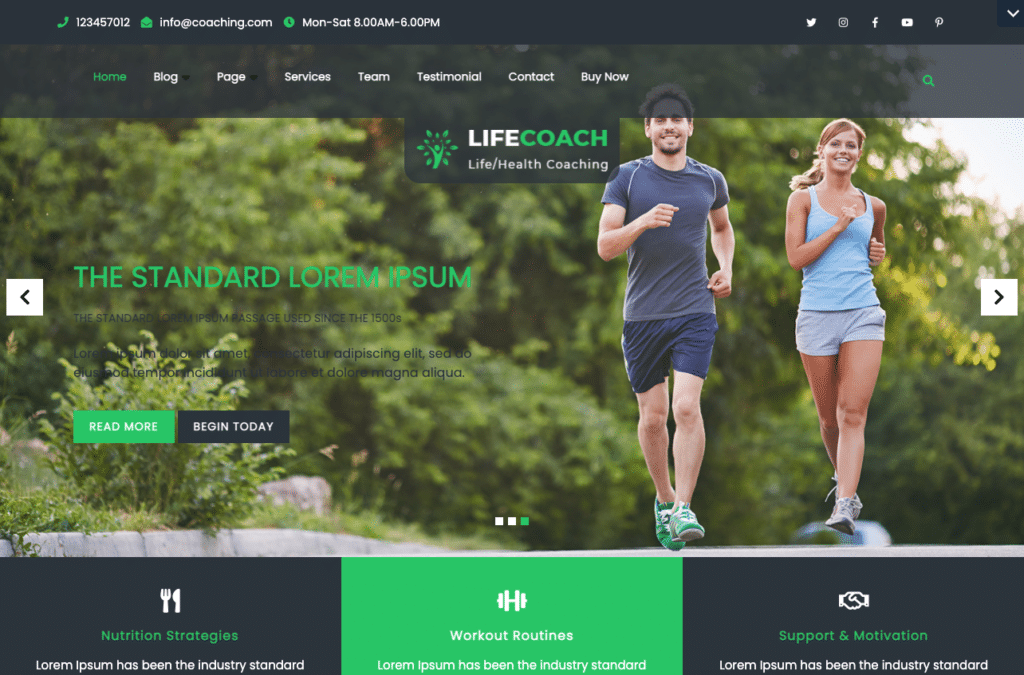 Health Coach by VW Themes