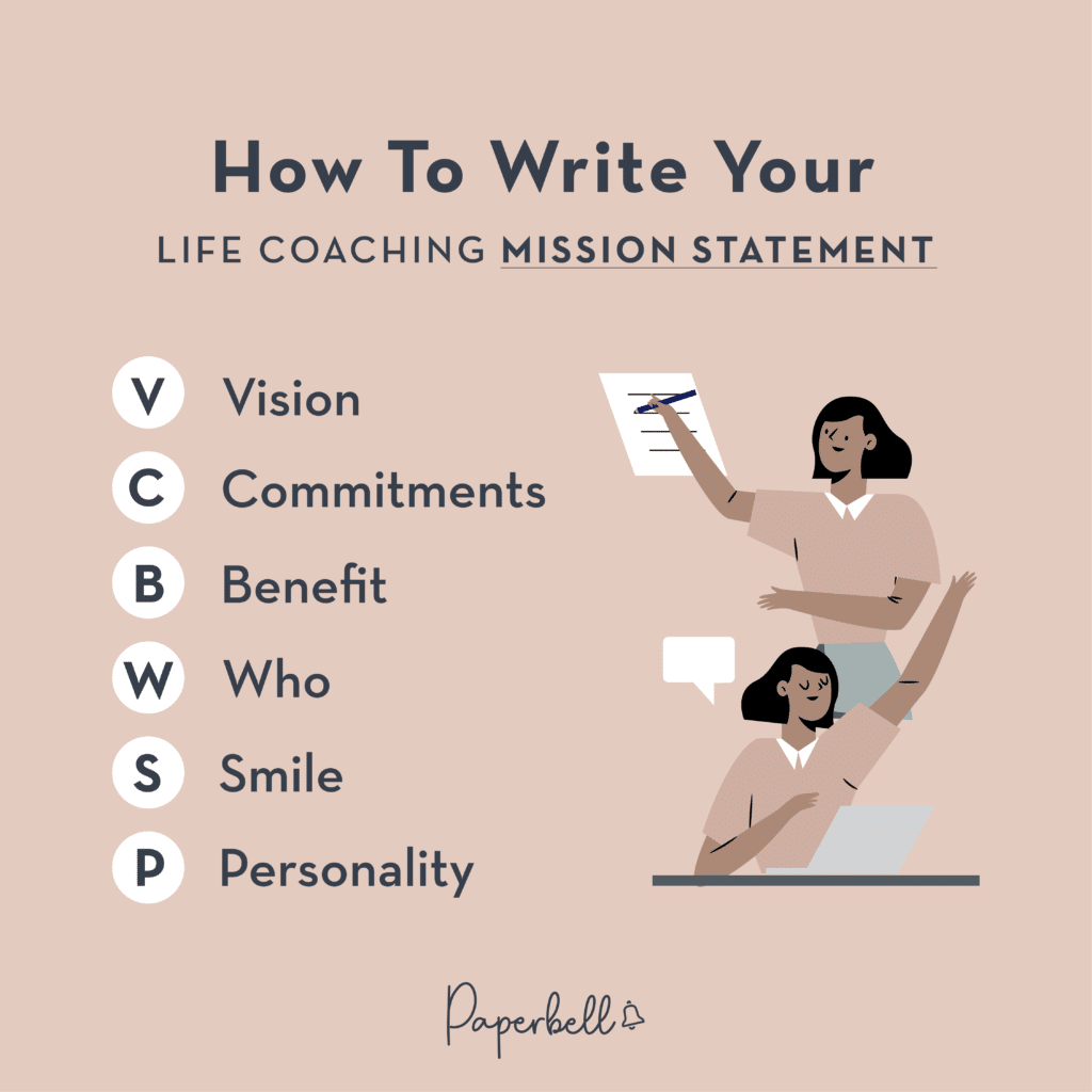How to Write Your Life Coaching Mission Statement