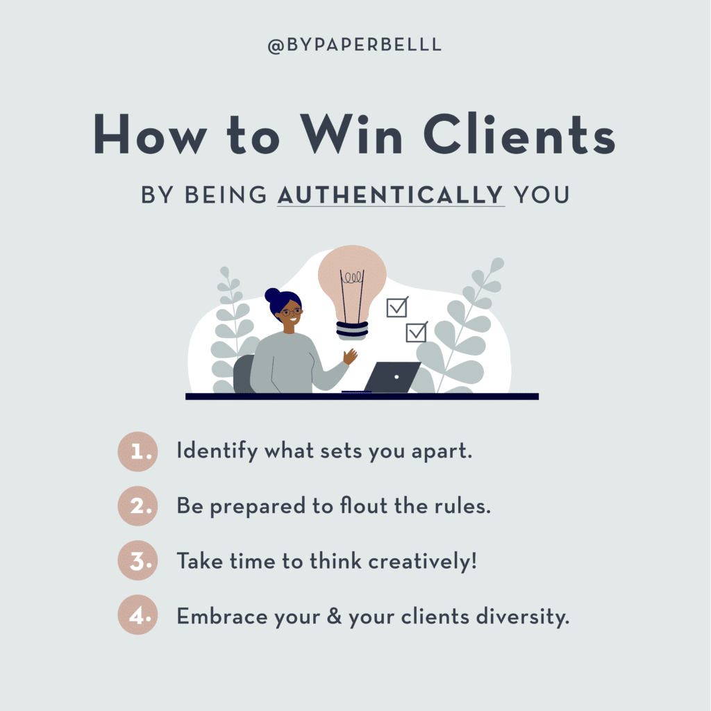 How to Win Clients by Being Authentically You