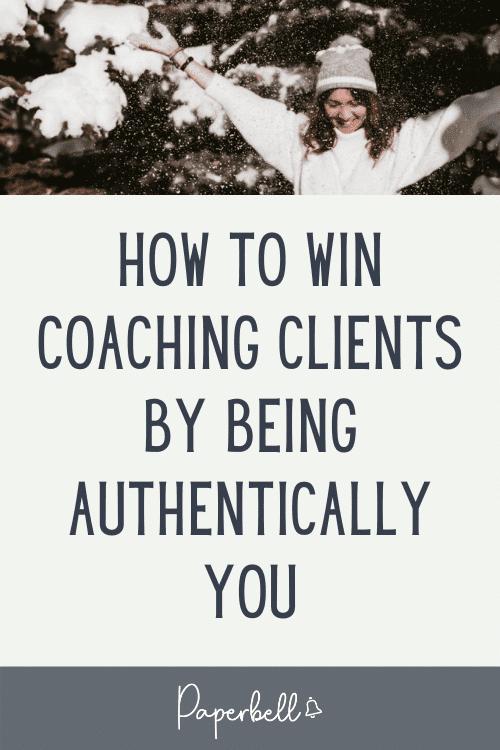win coaching clients pin