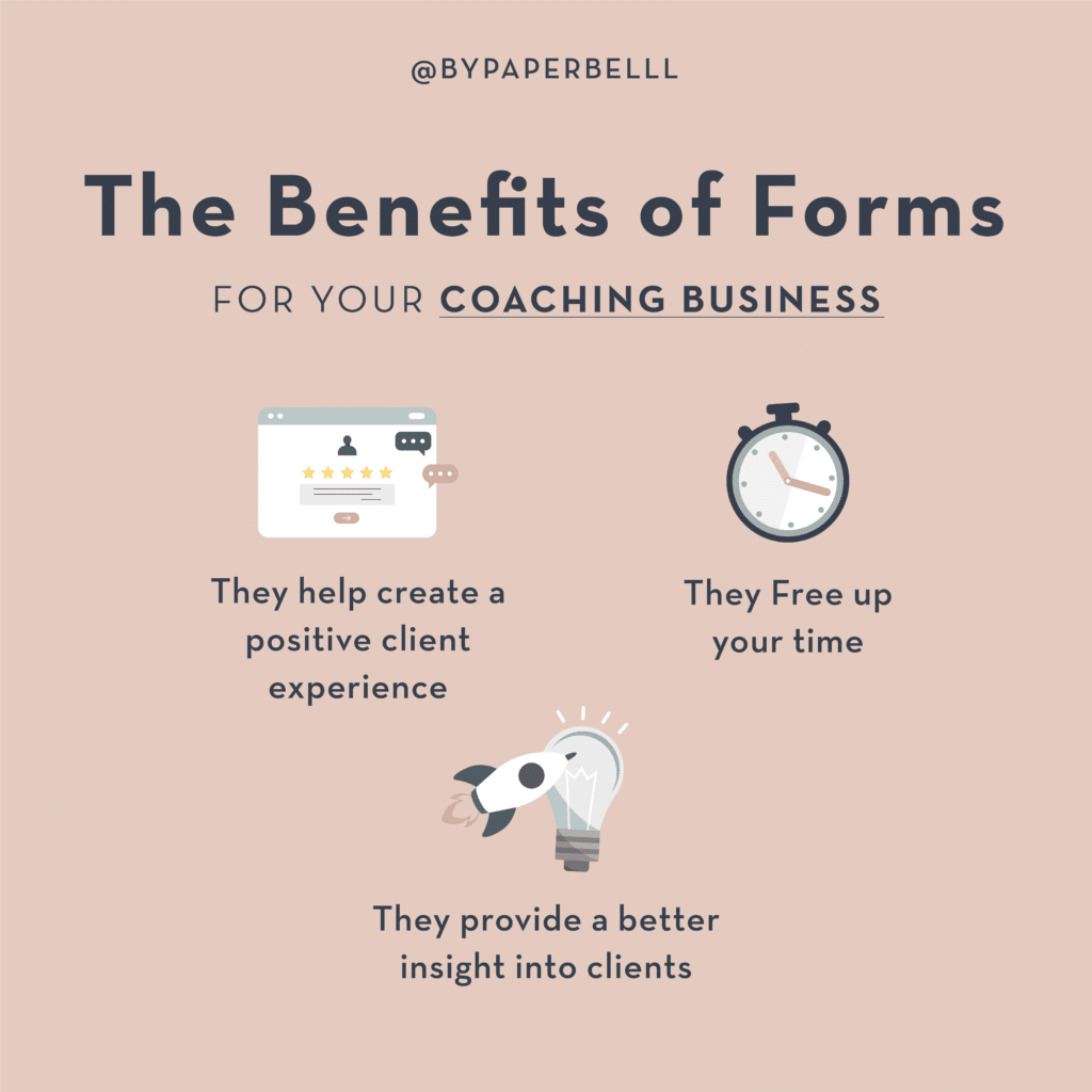 The Benefits of Forms