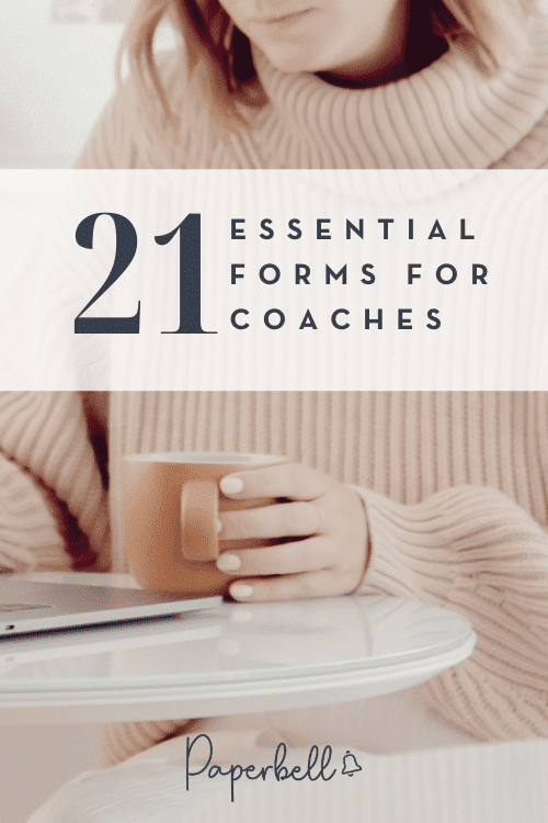 coaching forms
