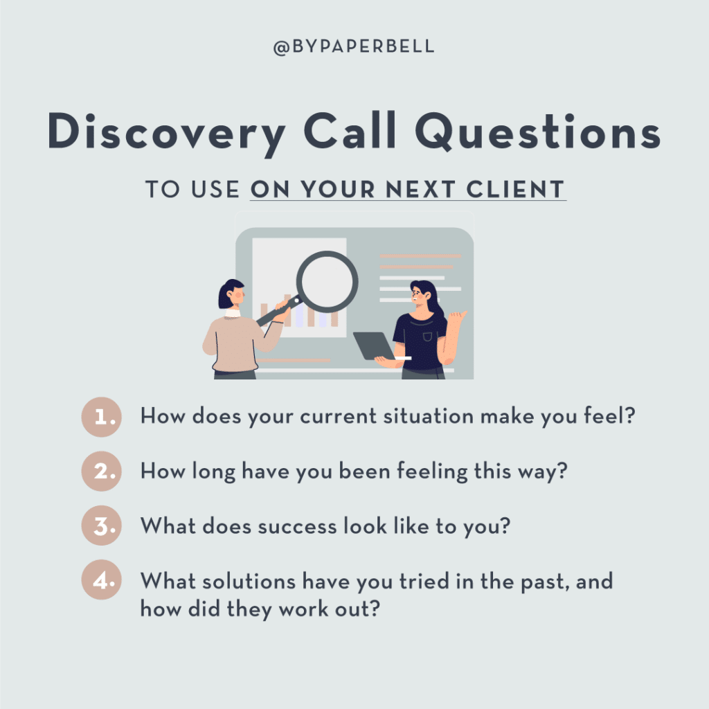 Discovery Call Questions