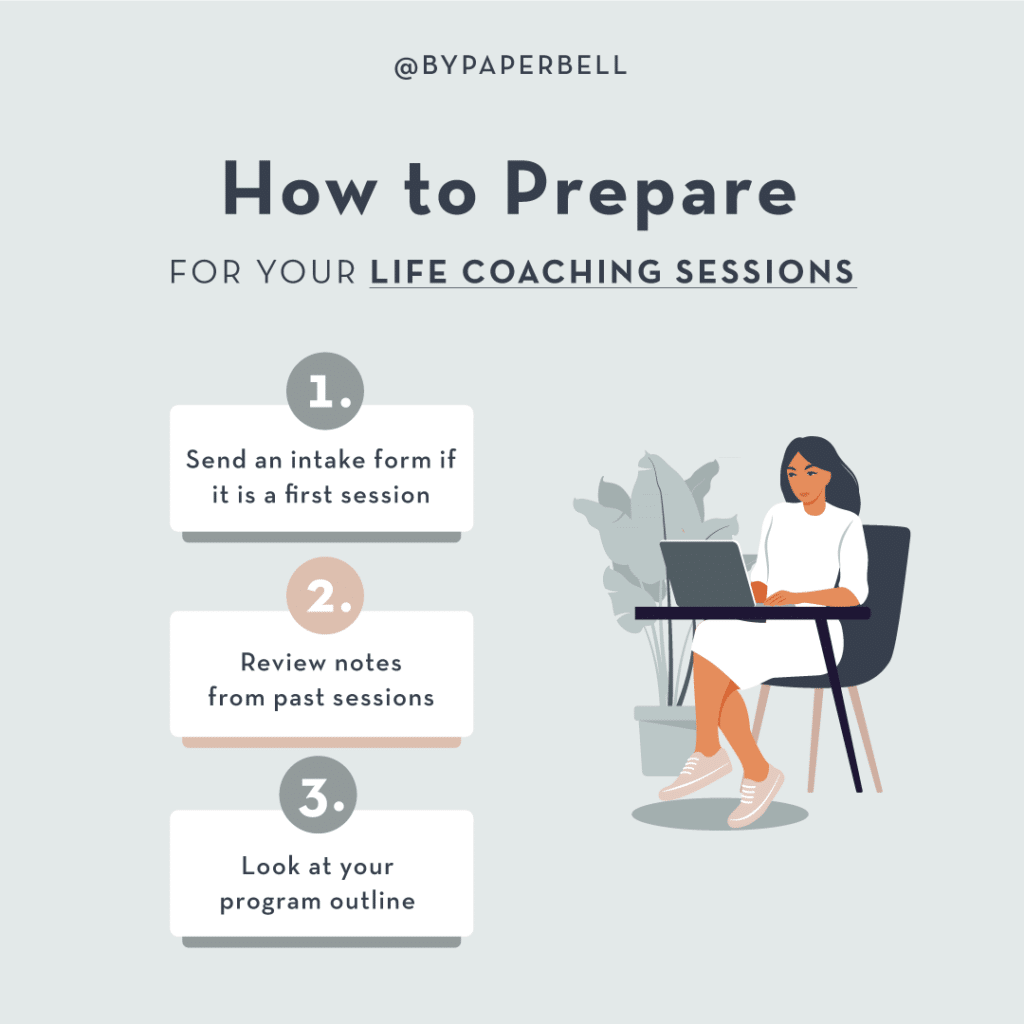 How to Prepare for Your Life Coaching Session