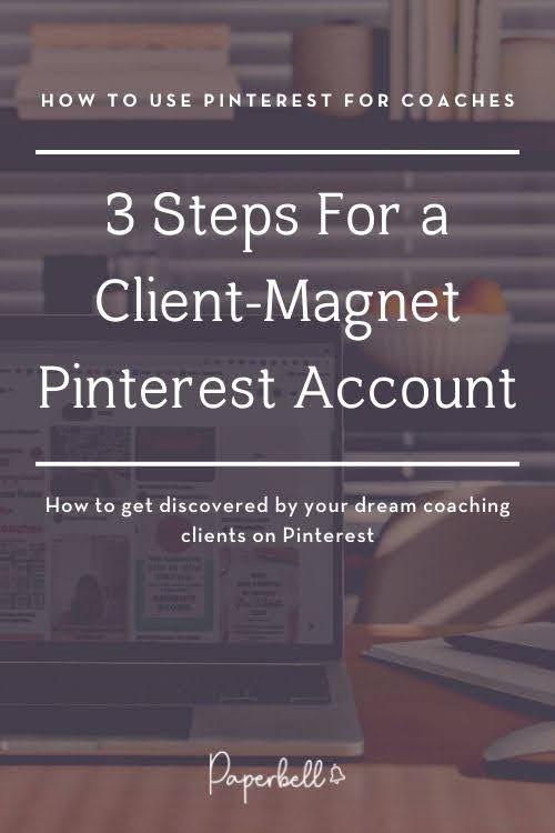 how to use pinterest for coaches