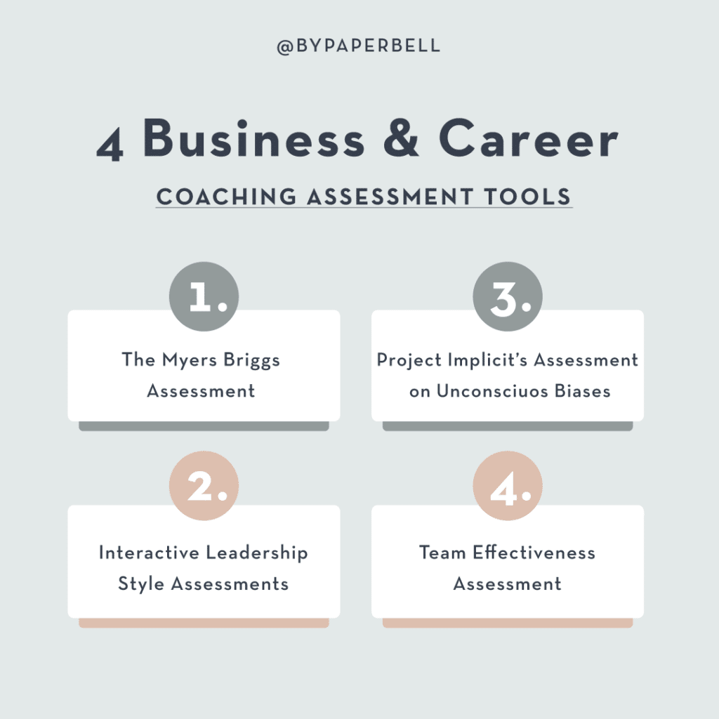 4 Business & Career Coaching Assesment Tools