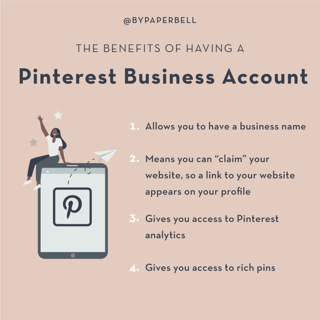 The Benefits of Having a Pinterest Business Account