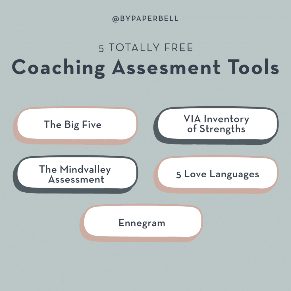 5 Totally Free Coaching Assesment Tools
