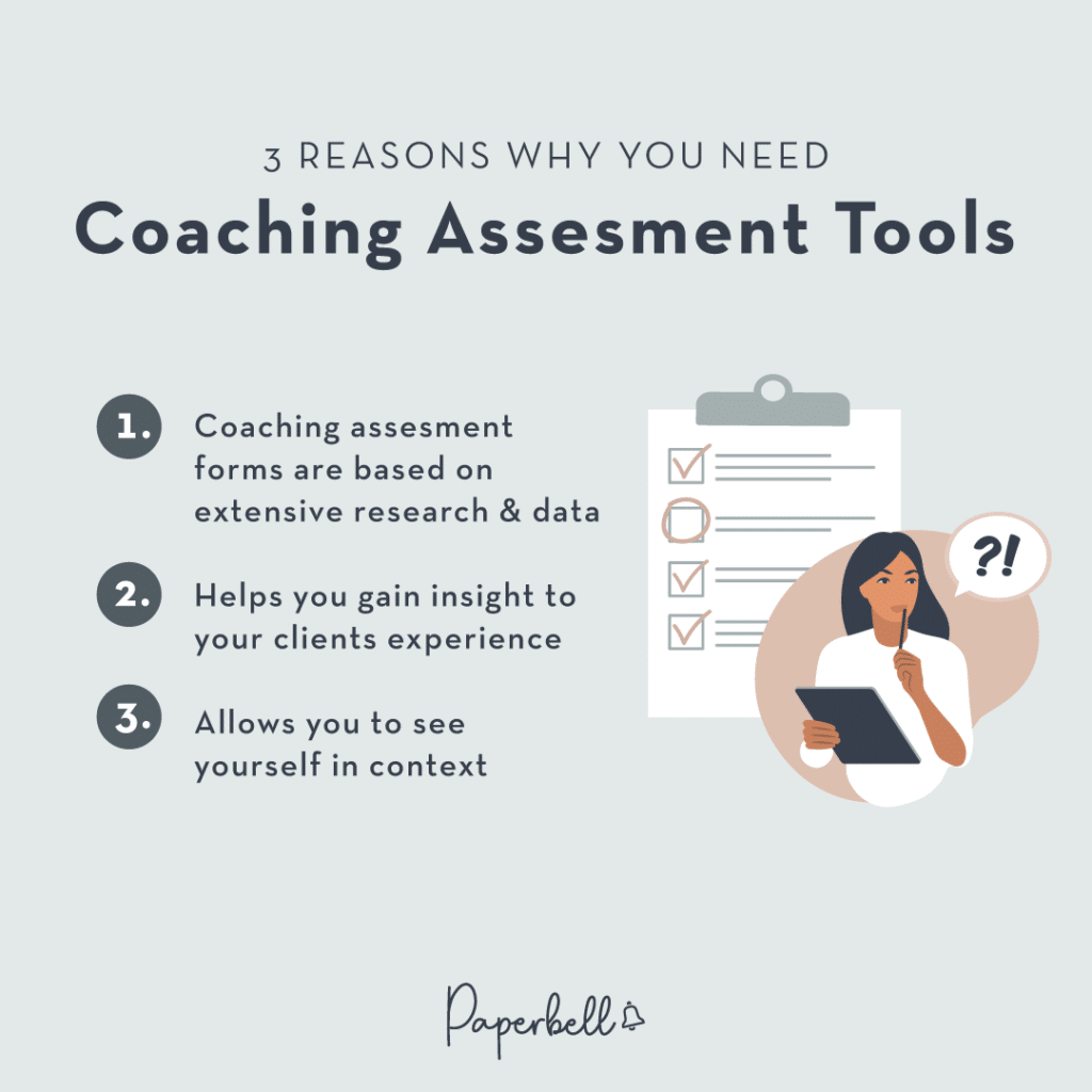 3 Reasons why you need Coaching Assessment Tools