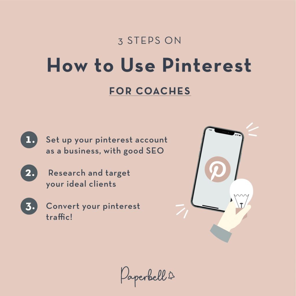 3 Steps on How to Use Pinterest for Coaches