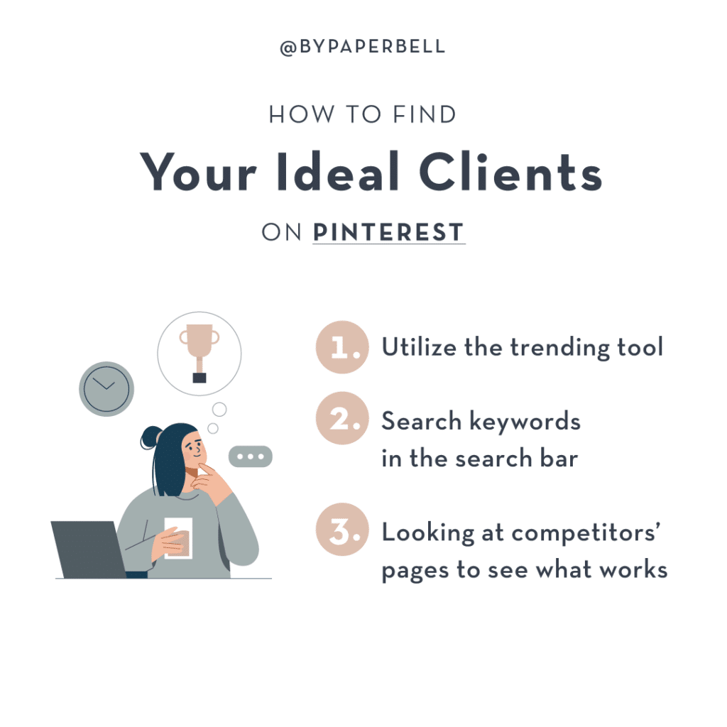 How to Find Your Ideal Clients on Pinterest