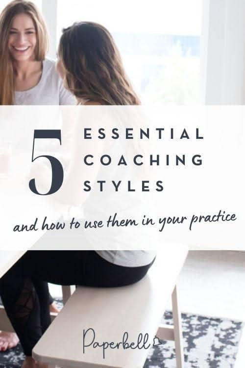 5 Essential Coaching Styles