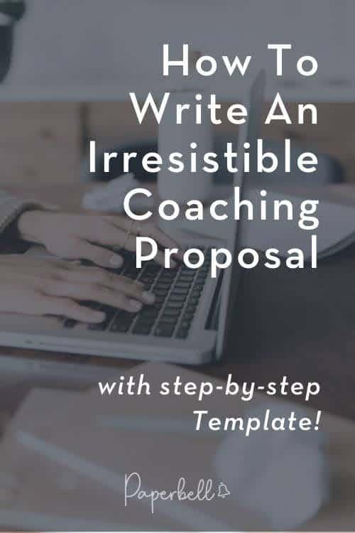 coaching proposal