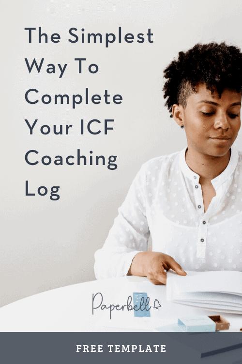 ICF coaching log
