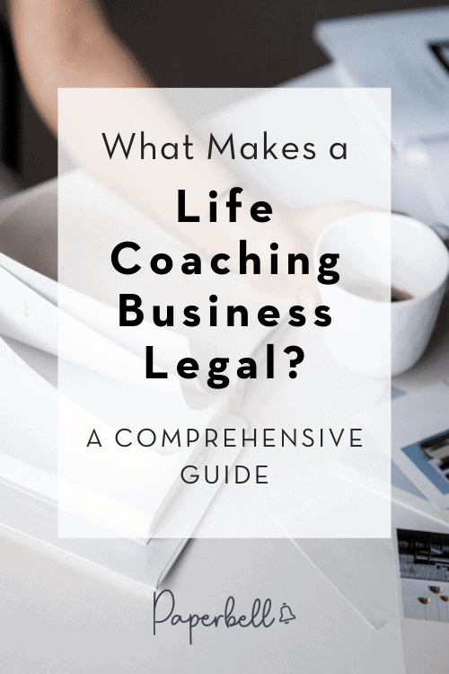legal requirements for life coaching
